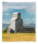 Glengarry Grain Elevator Fleece Blanket