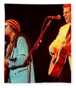 Glenn Frey Joe Walsh-1029 Fleece Blanket