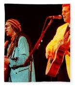 Glenn Frey Joe Walsh-1030 Fleece Blanket