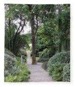 Glenveagh Castle Gardens 4305 Fleece Blanket
