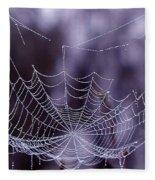 Glistening Web Fleece Blanket