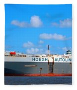Global Carrier Fleece Blanket