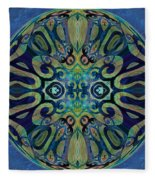 Mandala   56 Fleece Blanket