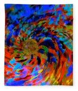 Globe Nebula Fleece Blanket