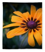 Gloriosa Daisy Fleece Blanket