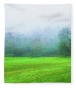 Glorious Greens Fleece Blanket