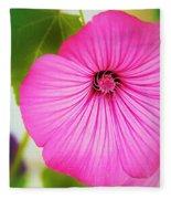 Glorious In Pink Fleece Blanket