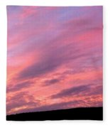 Glorious Nightfall  Fleece Blanket
