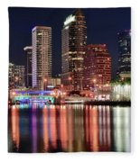 Glorious Tampa Bay Florida Fleece Blanket