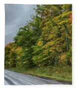 Glory Of The Trees Fleece Blanket