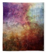 Glory Oil Abstract Painting Fleece Blanket