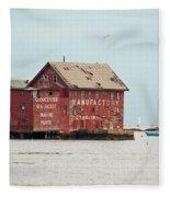 Gloucester Manufactory Fleece Blanket