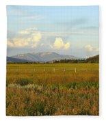 Glowing Meadow Fleece Blanket