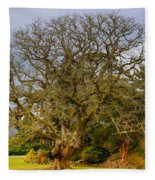 Gnarly Tree Fleece Blanket