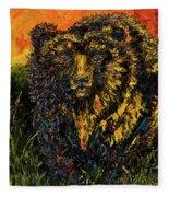 Go Griz Fleece Blanket