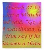 Go Set A Watchman Fleece Blanket