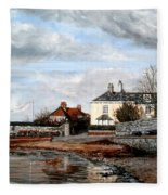 Goats Walk Topsham Devon Fleece Blanket