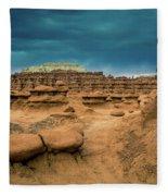 Goblin Valley State Park Fleece Blanket