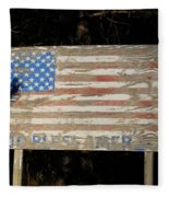God Bless America Fleece Blanket