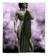 God Of The Underworld Fleece Blanket