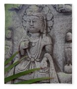 God Shiva Fleece Blanket