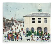 Godalming    Surrey Fleece Blanket