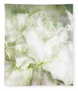 Goddess Of Innocence Fleece Blanket