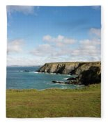 Godrevy To St Agnes, The North Cornwall Coastline Fleece Blanket