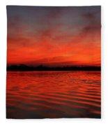 God's Canvas Fleece Blanket