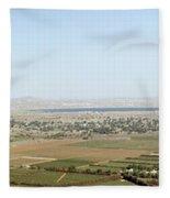 Golan Heights Fleece Blanket