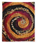 Gold And Glitter 56 Fleece Blanket