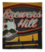 Gold Brewers Hill Fleece Blanket