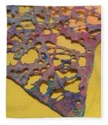 Gold Leaf 1 Fleece Blanket