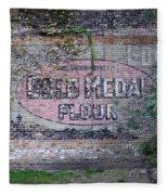 Gold Medal Flour Fleece Blanket