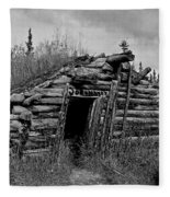 Gold Rush Cabin - Yukon Fleece Blanket