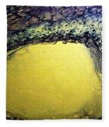Gold Underground Fleece Blanket