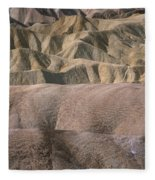 Golden Canyon - Death Valley National Park Fleece Blanket