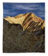Golden Canyon View #2 - Death Valley Fleece Blanket