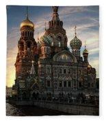 Golden Church Fleece Blanket