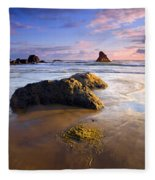 Golden Coast Fleece Blanket