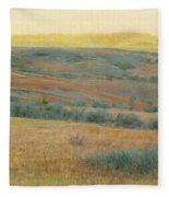 Golden Dakota Horizon Dream Fleece Blanket