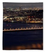 Golden Gate Fleece Blanket