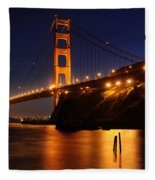 Golden Gate Bridge 1 Fleece Blanket