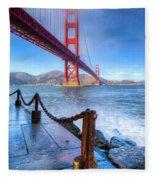 Golden Gate Bridge 2 Fleece Blanket