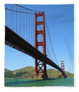 Golden Gate Bridge San Francisco Fleece Blanket