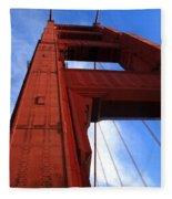 Golden Gate Tower Fleece Blanket