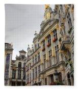 Golden Grand Place Fleece Blanket
