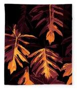 Golden Growth Fleece Blanket