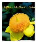 Golden Guinea Happy Mothers Day Fleece Blanket