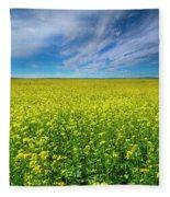 Golden Infinity Fleece Blanket